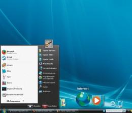 Unbelievable- Windows XP hiding under modern theme