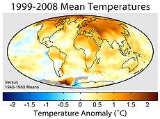 Global Warming Map