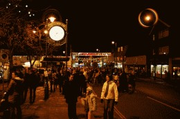Cottingham christmas lights in years gone by