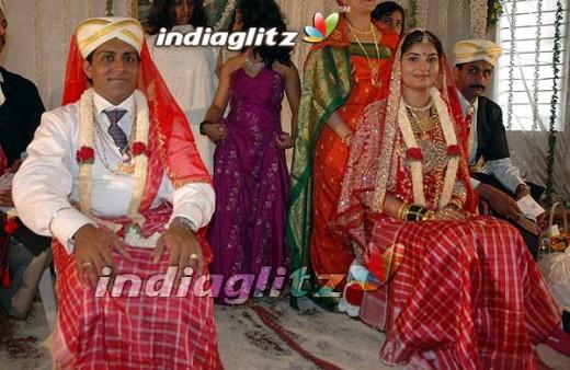 Prema's wedding photo.