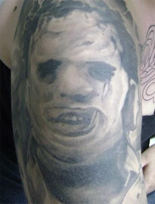 Leatherface Done By Pepeu From Rio De Janeiro; Brazil
