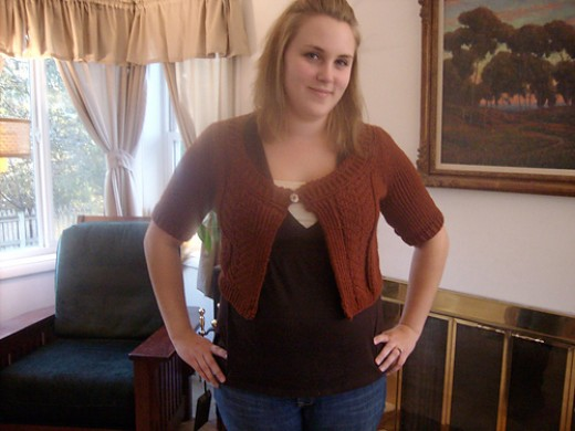 A successful bulky sweater, shocking!