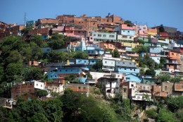 This is where the poorer people live who are looking for work in Caracas!