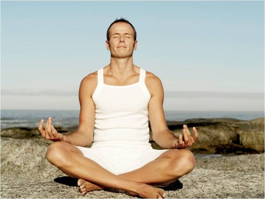 Yoga - good for mind and body.