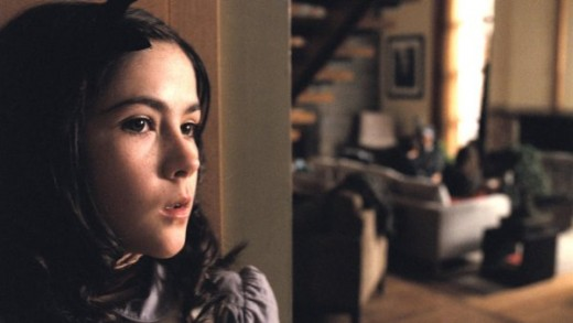 Isabelle Fuhrman as Esther in the 2009 horror movie, Orphan.