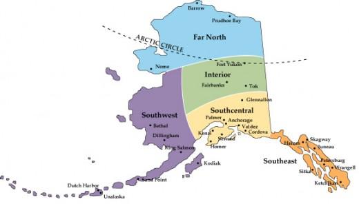 Alaska resembles panhandle.