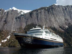 Photo of MV Columbia Courtesy M/V Columbia Crew