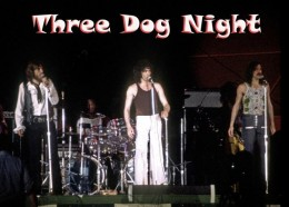 Lead singers Cory Wells, Danny Hutton, and Chuck Negron -all photos in this article provided by Steve D. Sodikoff with permission