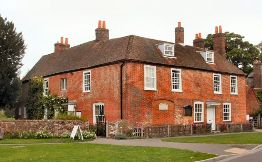 The house where Jane Austen lived and wrote most of her novels