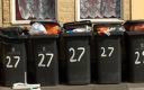 """""""Bin there, done that.""""  Council rubbish containers in their millions beautify our streets.  photo telegraph.co.uk"""