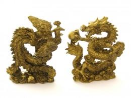 feng shui Dragon Phoenix