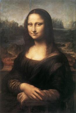Monalisa, a masterpiece by Leonardo da Vinci