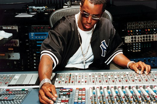 Sean Combs dialing in more cowbell.