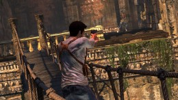 Uncharted 2 Action Sequence