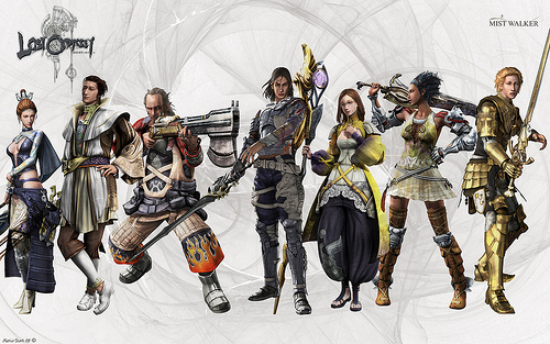 Lost Odyssey cast