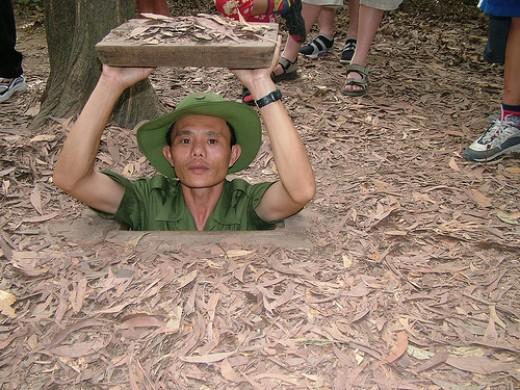 Chu Chi Tunnel Vietnam