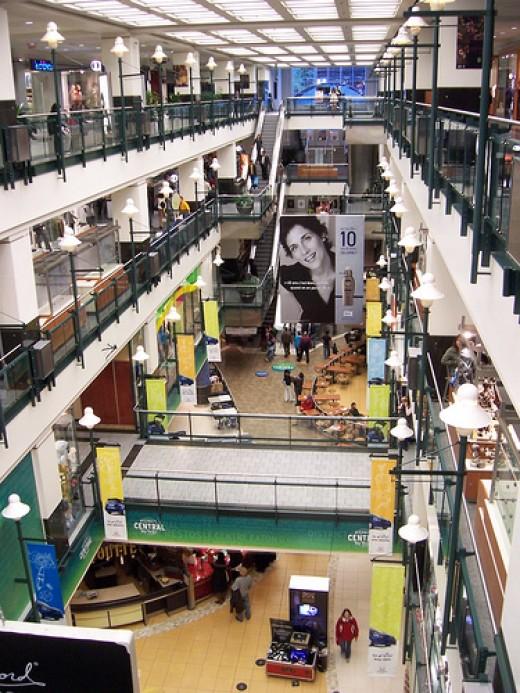Montreal City underground