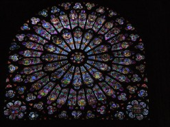 The Rose Window was actually taken down and buried for safety during World War II