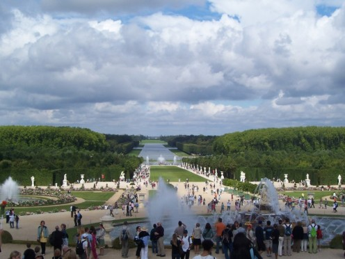 Entire rivers were diverted to fuel the fountains at Versailles