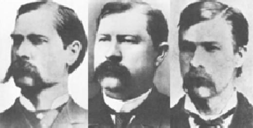 Wyatt, Virgil, Morgan Earp