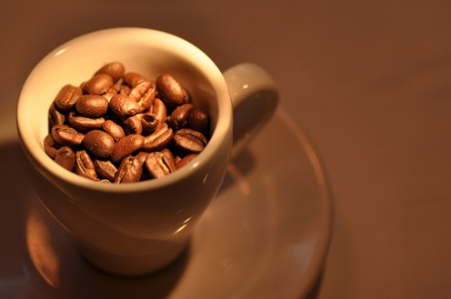 I love the smell of fresh coffee beans