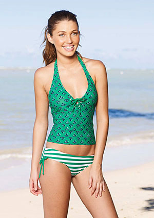 Tankinis have become are a very popular choice of swimwear.