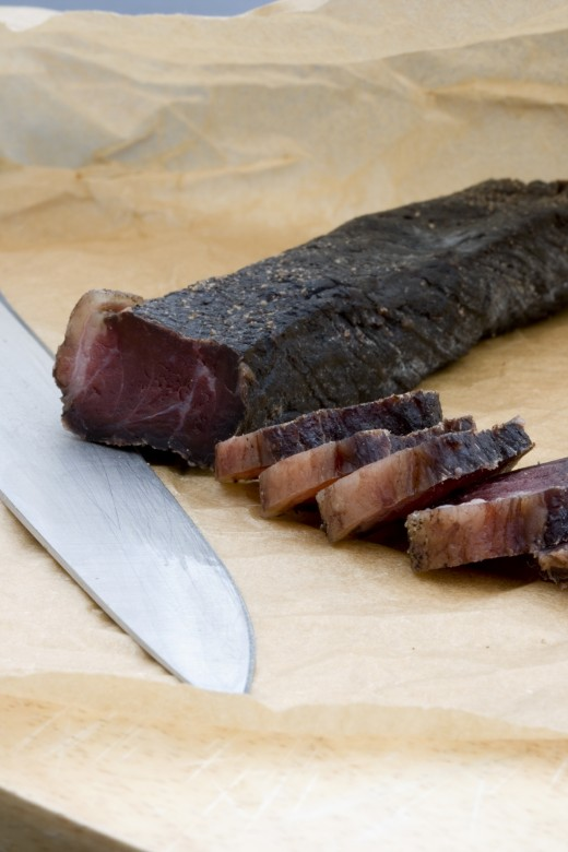 Venison makes excellent jerky!