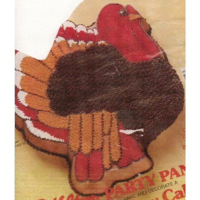 This turkey cake pan was retired years ago...but it is perfect for Thanksgiving. A real collectors item.