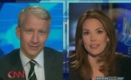 Anderson Cooper and Erica Hill
