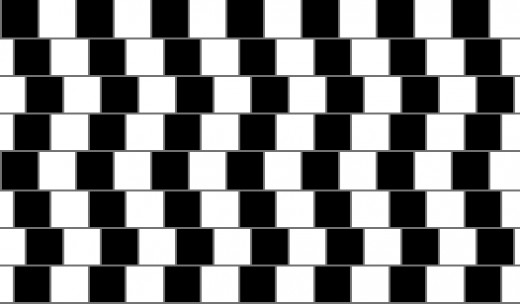 Are these lines straight or do they come to a point?