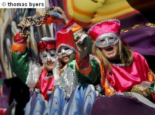 Mardi Gras  Krewe Fun in New Orleans