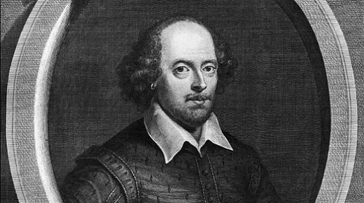 William Shakespeare, the greatest English playwright (1564-1616)Portrait by George Vertoe/Getty Images