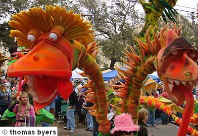 Mardi Gras Has Some Strange Creatures Sometimes