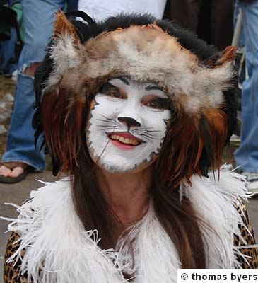 A Pretty Mardi Gras  Kitty
