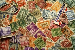 A collection of stamps (from Photo.com)