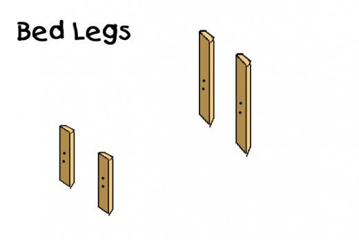 Cut 4 legs