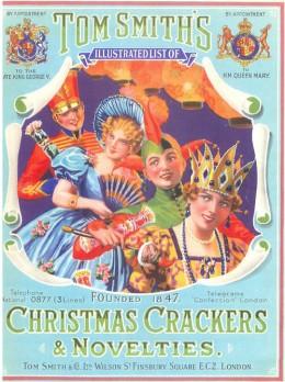 Tom Smith Christmas Crackers - 1940 Catalog Cover