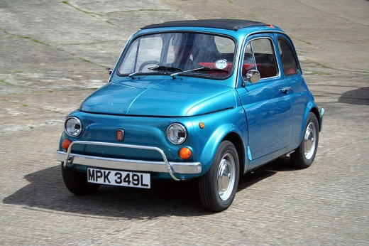 Fiat 500 by Tony Harrison