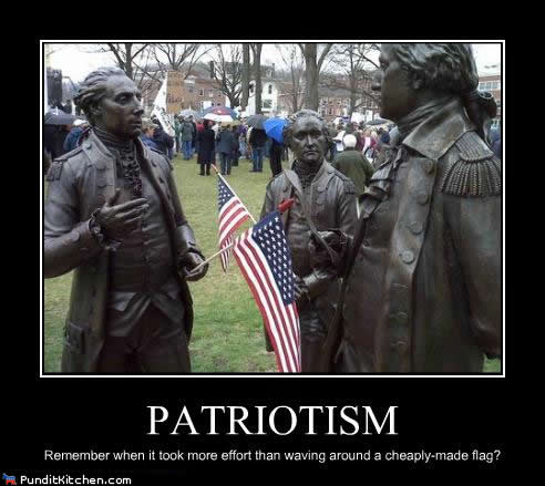 Patriotism Is More Than Celebrating When Your Side Wins