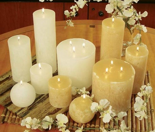 Attractive Candle Samples