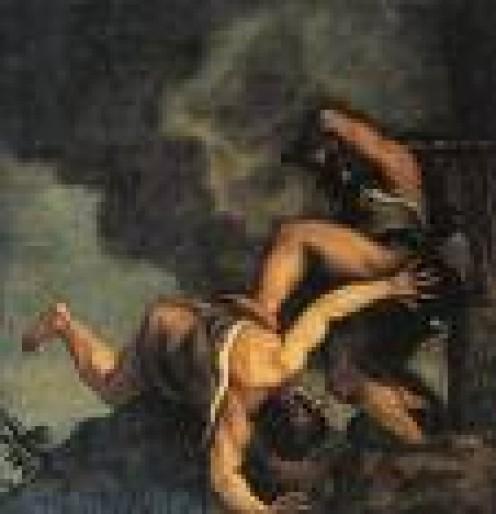 Cain slays Abel