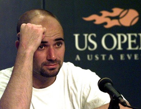 Andre Agassi tells all in his memoir, Open.