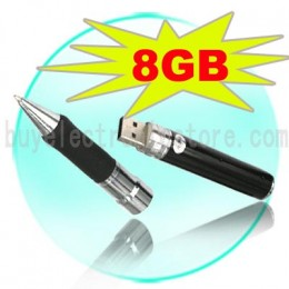 8GB Spy Cam Pen Hidden 8G Video Camera Recorder DVR G33,picture courtesy of http://stores.shop.ebay.com/mercifly__W0QQ_armrsZ1