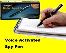 Stealth VOICE ACTIVATED SPY PEN RECORDER USB,picture courtesy of http://stores.shop.ebay.com/SpyAssociates-Security-Products__W0QQ_armrsZ1