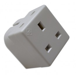 Fully functioning plug adapter, also records audio, picture courtesy of http://www.spyequipmentuk.co.uk/gsm-bugs/gsm-bugs/gsm-double-plug-adapter.html