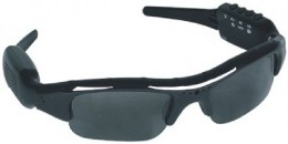DVR Spy Sunglasses with hidden camera surveillance, picture courtesy of http://stores.shop.ebay.com/Bold-Defense__W0QQ_armrsZ1