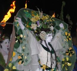 May Queen at Beltane on Carlton Hill, Edinburgh     *Debs* @ flickr