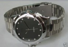 4GB new Spy Camera DVR Watch Elegantly designed, picture courtesy of ebay seller http://myworld.ebay.com/e_fashion5188/
