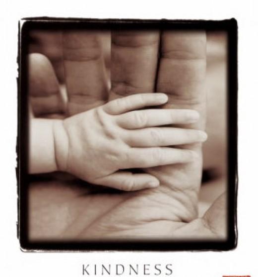 Kindness in words creates confidence, Kindness in thinking creates profoundness, Kindness in giving creates love - Lao Tzu
