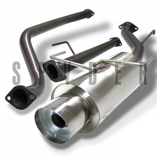 """Similar exaust system I have for Spec V. """"Warning might have to leave the silencer in very loud"""""""